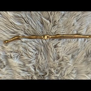 Leather & Metal Belt